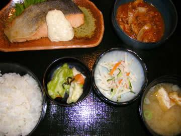 日本海庄やの日替わり定食