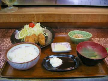 時葵のカキフライ定食