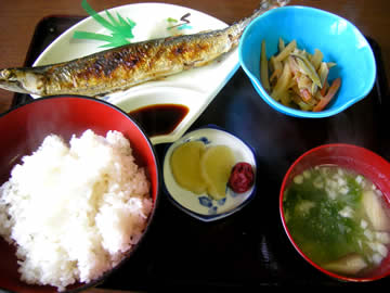長寿庵のおまかせ定食