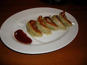 中華喜多の餃子