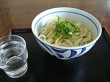 釜あげうどん食堂 山崎製麺の釜玉うどん