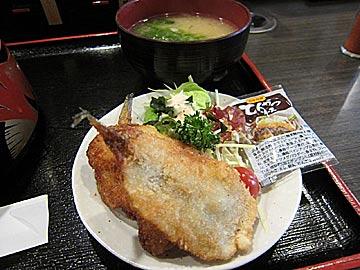 のと前回転寿司 夢市七尾店のちらし寿司ランチ