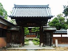龍門寺(越前市旧武生のお寺巡り)