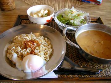 アジアンキッチンchanomaのグリーンタイカレーセット