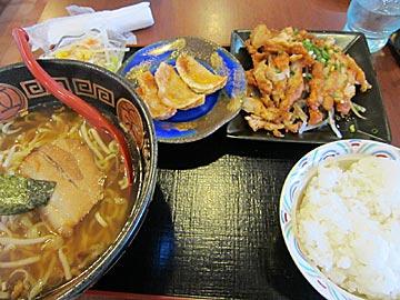 中華料理 大福の油淋鶏ランチ
