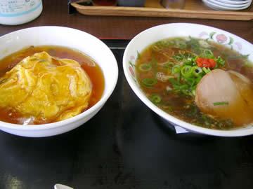 餃子の王将 丸岡店のスーパーセット