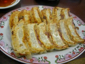 餃子の王将 丸岡店の餃子