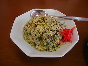 中国料理 龍昇の高菜炒飯