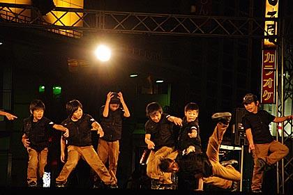 5タウンフェスタ片町ホコ天2013のストリートダンス