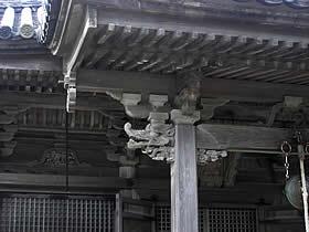 五大堂の彫刻