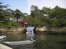 五大堂の島