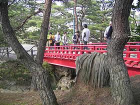 五大堂の橋