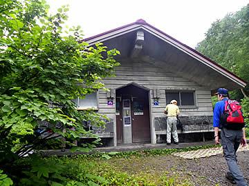 白山の中飯場