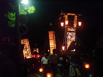 冨木八朔祭礼