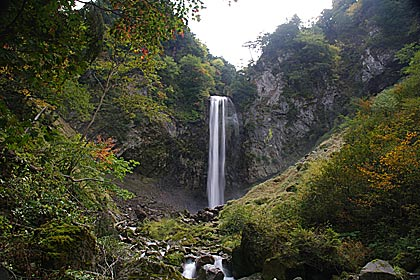 平湯大滝の滝