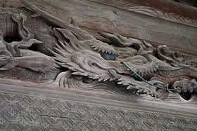 瑞泉寺の欄干
