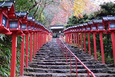 貴船神社の紅葉