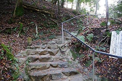 鞍馬山の登山道
