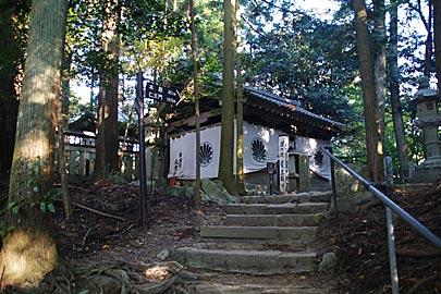 鞍馬寺の奥の院