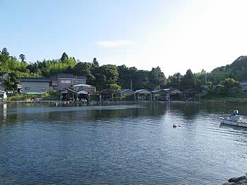 布浦の舟小屋