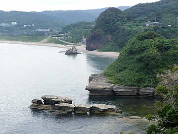 黒崎岬からの風景