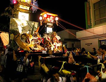 松波人形キリコ祭り