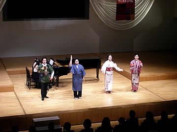 アジア民族音楽フェスティバルのミニオペラ「河童譚」