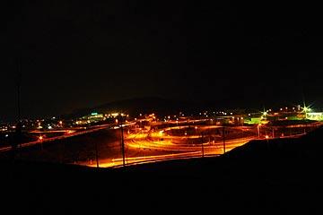 森本インター展望台の夜景