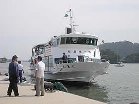 松島島巡り観光船 仁王丸