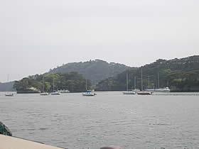 遊覧船(松島島巡り観光船 仁王丸)の乗船場
