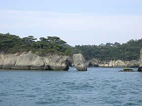 松島島巡りの風景