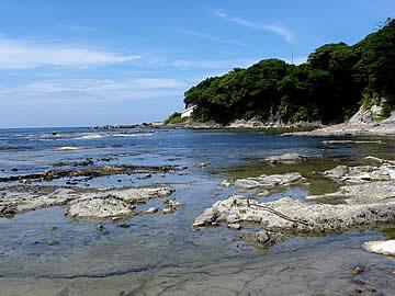 西海地域の海岸