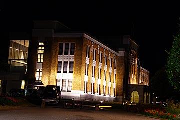 石川県政記念 しいのき迎賓館のライトアップ