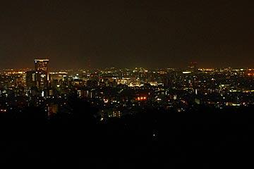 卯辰山の望湖台の夜景